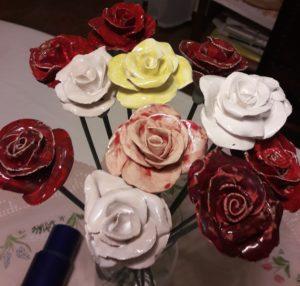 ceramika roze